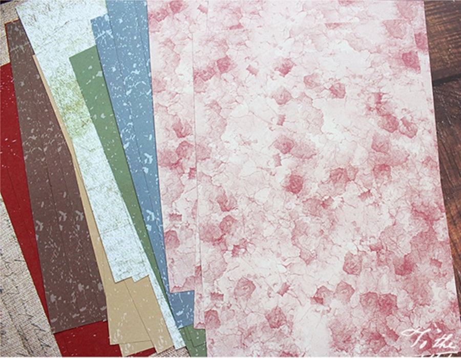 A5 Splash Journaling Paper Pack 30 Sheets | Beautiful Vintage Journaling Papers - shop Stationery & Gifts store online