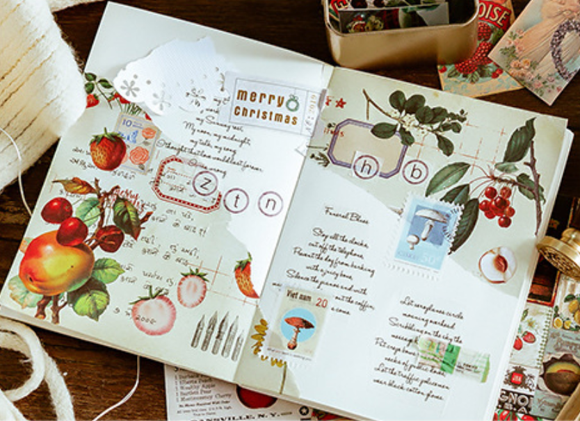 Multipurpose Christmas Sticky Paper Sets - shop Stationery & Gifts store online