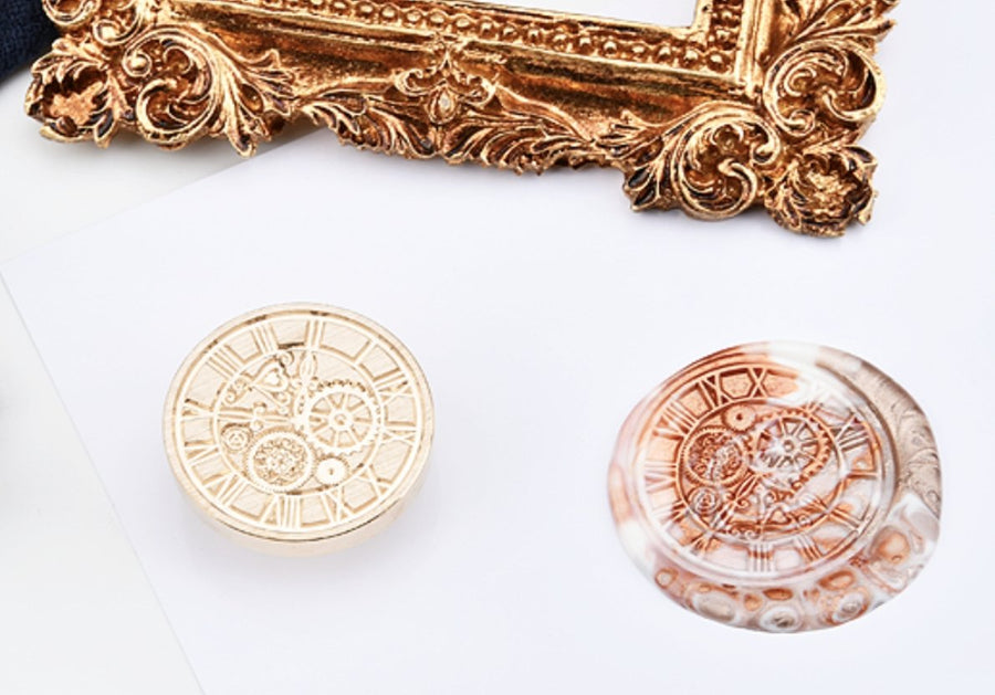 Life Clock Wax Seal Stamp - shop Stationery & Gifts store online