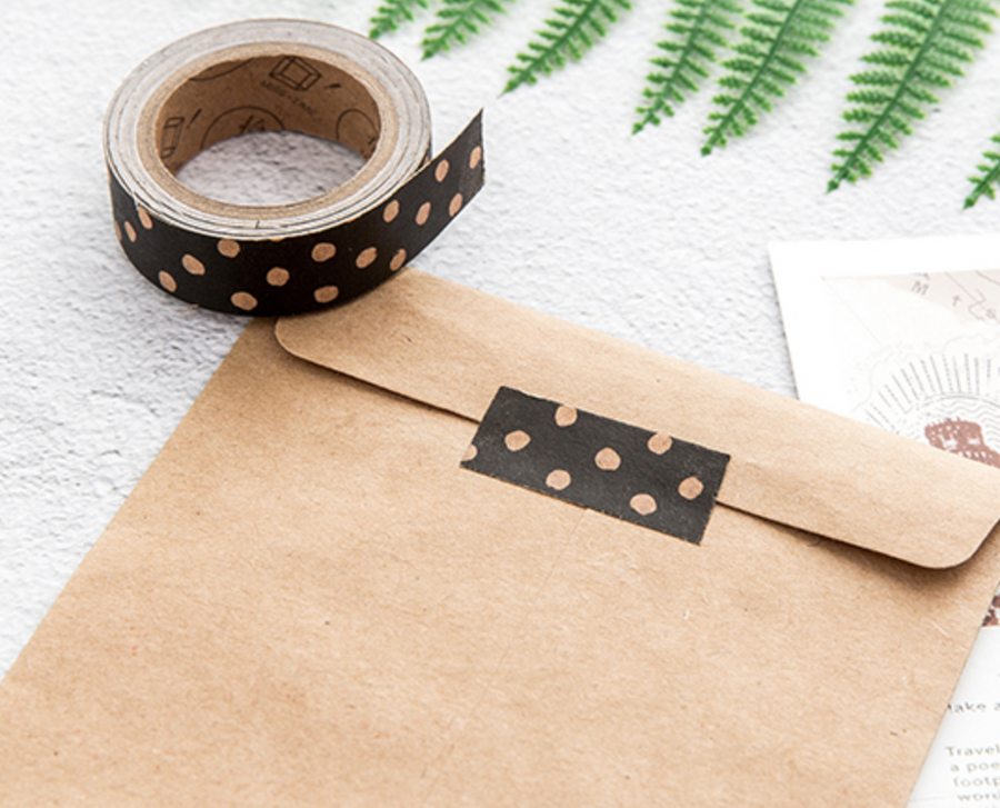 Vintage Kraft Paper Adhesive Tape - shop Stationery & Gifts store online