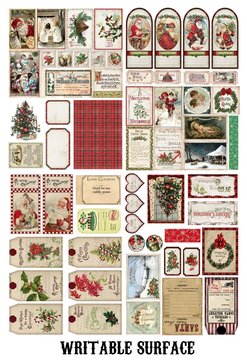 138pcs Jumbo Christmas Sticker Pack - shop Stationery & Gifts store online