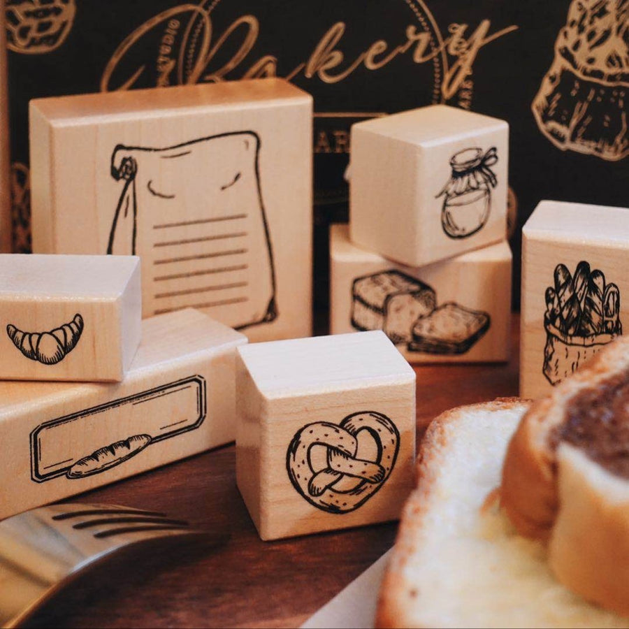 Bakery Shop Stamp Collection - [Studio Collection] - shop Stationery & Gifts store online