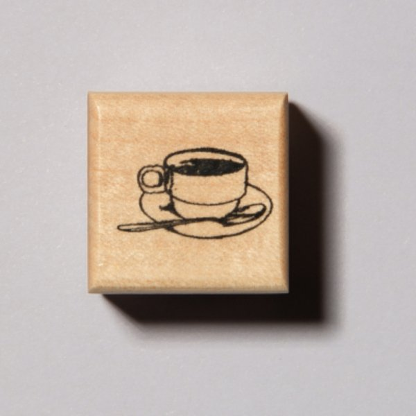 My Morning Coffee Stamp - Artists' Original Series - shop Stationery & Gifts store online