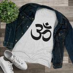 Load image into Gallery viewer, Aum (Women's Triblend Tee/W)