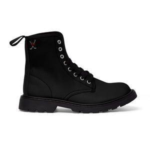 X-Vibe Men's Canvas Boots (Black/B)