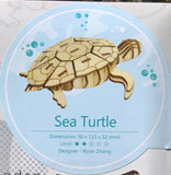 3D Wooden Animal Puzzle - Sea Turtle