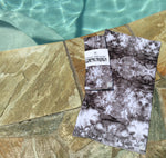 Luxury Sun Scarf and Face Covering - Dark Tie Dye - ** Extremely limited quantities **