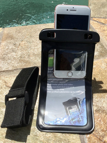 Water-Proof Cell Phone Case - Universal Size - Straps Included
