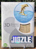 3D Wooden Animal Puzzle - Dolphin
