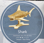 3D Wooden Animal Puzzle - Shark