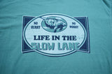 Life in the Slow Lane Manatee T-Shirt - Green