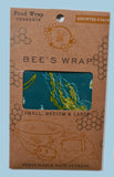 Bee's Wrap - Ocean Print Assorted 3 Pack