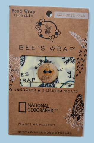 Bee's Wrap - National Geographic™ Explorer Pack