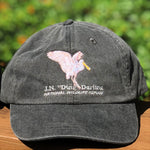 Charcoal Spoonbill Adjustable Baseball Hat