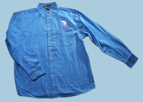 Spoonbill Denim Long Sleeve Shirt