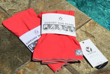 Luxury Sun Scarf and Face Covering - Deep Coral - ** Extremely limited quantities **