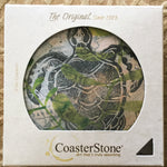 Absorbent Stone Coaster Set - Sea Turtle - Set of 4
