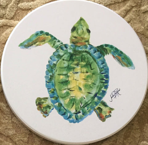 Absorbent Coaster Set - Sea Life IV - Set of 4
