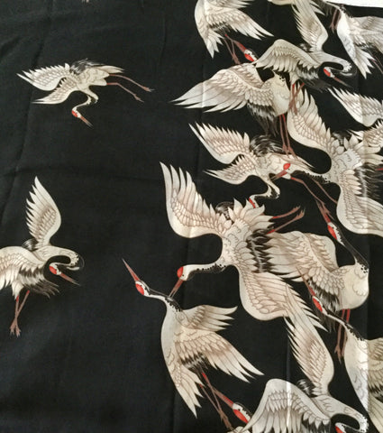 Grand Fashion Scarf - Cranes