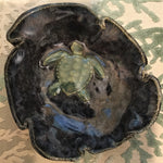 Jerry Edelman Sea Turtle Dish – Handcrafted on Sanibel Island - 1st of Three Unique Designs