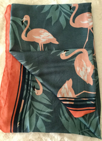 Grand Fashion Scarf - Flamingo
