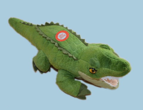Alligator Mini Stuffed Animal With Sound 10""