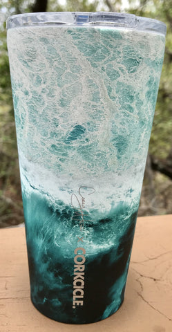 16 oz Tumbler - Big Wave