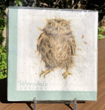 Whimsical Wildlife Paper Napkins - What a Hoot - Two Sizes
