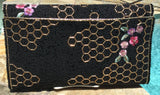 Mary Frances Hand Beaded Handbag - Honey Bee - Signed