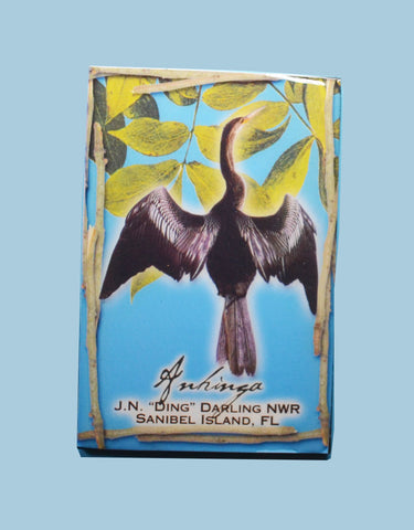 Wildlife Refrigerator Magnets - Anhinga