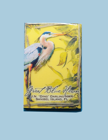 Wildlife Refrigerator Magnets - Great Blue Heron