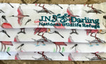 New Special Edition Iconic Roseate Spoonbill Face Mask - Blue Embroidery