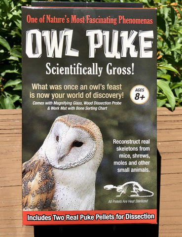 Owl Puke - Scientifically Gross