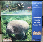 Manatee - 550 Piece Puzzle - Made in the USA