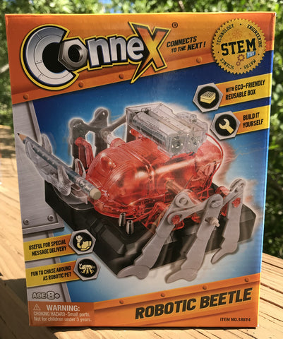 Robotic Beetle - Connect, Build, and Play!
