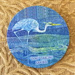 "Absorbent Flexible Coasters - ""Ding"" Darling Wildlife Designs - Made in the USA"