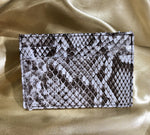 Invasive Python Skin Slim Card Case
