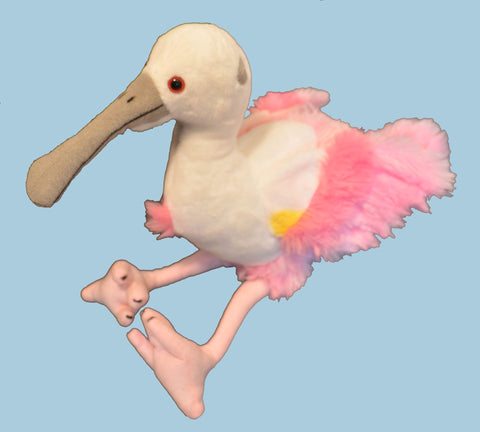 Roseate Spoonbill Stuffed Animal - Exclusive