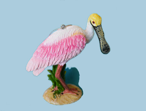 Exclusive Roseate Spoonbill Ornament