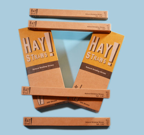 Hay Straws - The Plastic Straw Replacement.