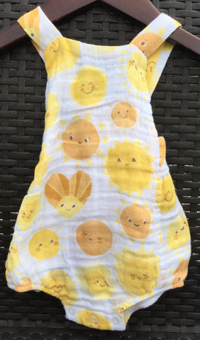 Retro Sunsuit - Sunshine