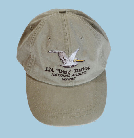 Pelican Adjustable Baseball Hat - Khaki