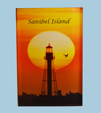 Photo Magnets - Sanibel Lighthouse
