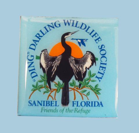 Wildlife Refrigerator Magnets - Society Logo