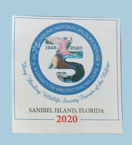 75th Anniversary Sticker