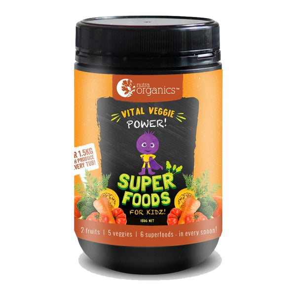 Superfoods For Kidz - Vital Veggie Power