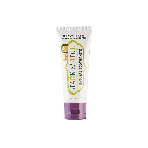 Jack N' Jill Natural Toothpaste - Blackcurrant 50g