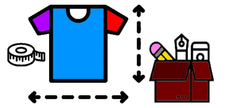<h2>GEE</h2> Item Sizes and Materials