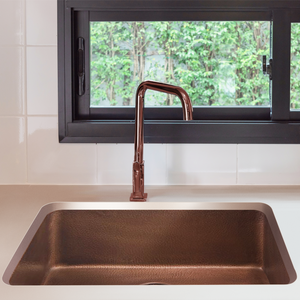 "Villa 30"" x 20"" Copper Sink"