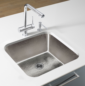 "Tamayo 15-5/8"" x15-5/8"" Nickel Sink"